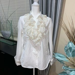 Lauren Ralph Lauren white formal shirt/top